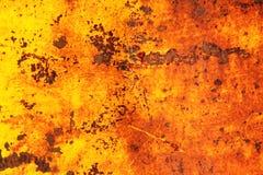 Orange rost för solnedgång Royaltyfria Bilder