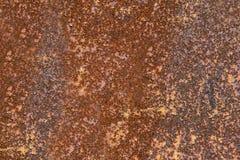 Orange Rostbeschaffenheit oder -hintergrund Lizenzfreies Stockbild