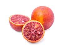 Orange rouge Photos stock