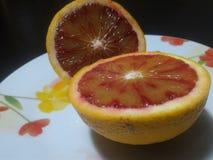 Orange rouge sicilienne Photos libres de droits