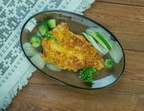 Orange Roughy Broil Stock Photo