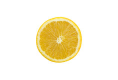 Orange. The round yellow citrus fruit, sour or sweet, edible Royalty Free Stock Images