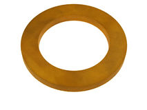 Orange rubber ring Royalty Free Stock Photo