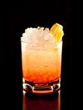 Orange rum drink Stock Photo