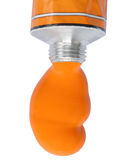 Orange rush2, outlined Stock Images