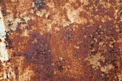 Orange Rust Texture. Orange colored rust on a barrel royalty free stock image