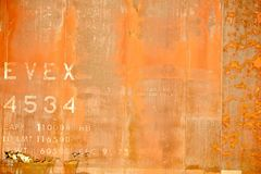 Orange Rusty Background Royalty Free Stock Images