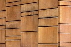 Orange rusty metal tiles Stock Photography