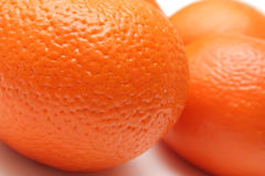 Orange's skin close-up Stock Photography