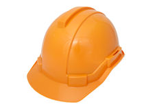 Orange Safety helmet Stock Photos