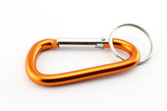 Orange safety hook Royalty Free Stock Photos