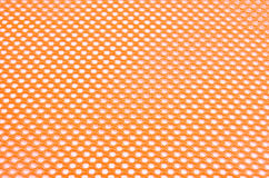 Orange Safety Mesh Royalty Free Stock Photography