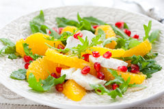 Orange salad Stock Images