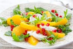 Orange salad Stock Images