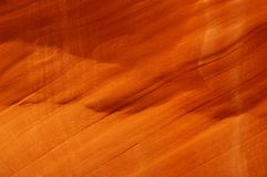 Orange sandstone background. Antelope Canyon wall structure background (horizontal Stock Photography
