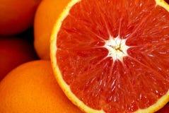 Orange sanguine Photo libre de droits