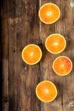 Orange sanguine Photo stock