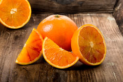 Orange sanguine Images libres de droits