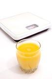 orange scale för fruktsaft royaltyfri bild
