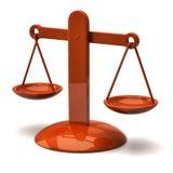 Orange scales Stock Photo
