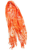 orange scarf Royaltyfria Foton