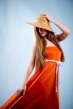 Orange Schönheit Stockbilder