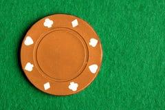 Orange Schürhaken-Chip Stockbilder