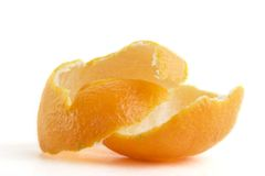 Orange Schale Lizenzfreie Stockfotografie