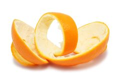 Orange Schale stockfoto