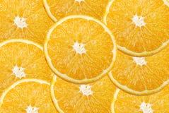 Orange Scheibe Stockfotos
