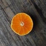 Orange Scheibe Stockbild