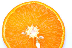 Orange Scheibe mit Startwerten für Zufallsgenerator Stockfotografie