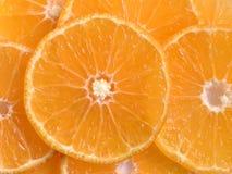 Orange Scheiben Lizenzfreie Stockfotografie