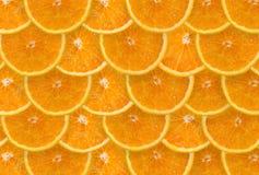 Orange Scheiben Lizenzfreies Stockfoto