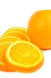 Orange Scheiben stockfoto