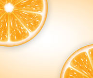 Orange Scheiben Lizenzfreie Stockbilder