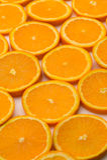 Orange Scheiben Lizenzfreie Stockfotos