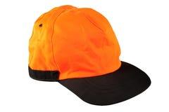 Orange Schutzkappe Stockbild