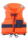 Orange Schwimmweste lizenzfreies stockbild