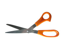 Orange Scissors Royalty Free Stock Photos