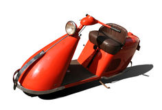 Orange Scooter Royalty Free Stock Photo