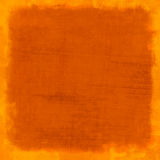 Orange scratched vintage background Royalty Free Stock Photography