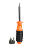 Orange screwdriver Stock Photo
