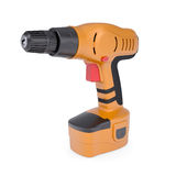 Orange screwdriver Stock Photography