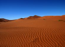 Orange sea, Namibia Royalty Free Stock Photos