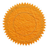 Orange seal Royalty Free Stock Images