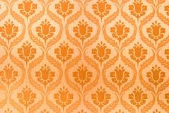 Orange seamless abstrakt bakgrund Royaltyfri Foto
