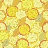 Orange seamless background Stock Images