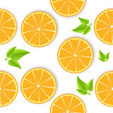 Orange seamless background Stock Photos