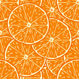 Orange seamless background Royalty Free Stock Photography